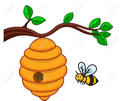 film animasi lebah bee hive clipart tree clip art pencil and in color bee
