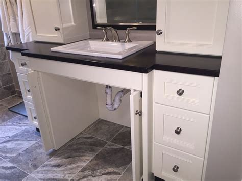 handicap accessible bathroom vanities handicap bathroom vanities roll vanity contractor in