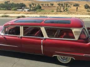 Cadillac Station Wagon 1956 Cadillac Broadmotor Station Wagon For Sale