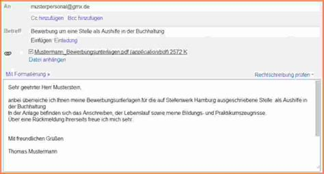 Email Bewerbung Was In Mail 5 E Mail Bewerbung Muster Transition Plan Templates