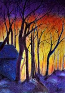draw landscapes in colored pencil the ultimate step by step guide books trees shops and warm on