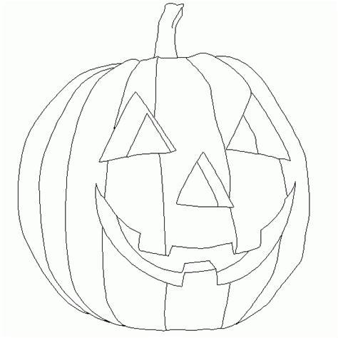 imagenes calabazas halloween para imprimir una calabaza de halloween para colorear dibujos de