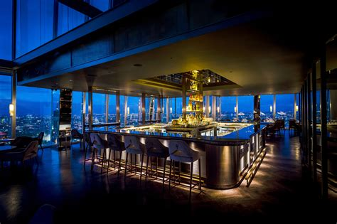 bar at the top of the shard top 10 london restaurants with cocktail bars bookatable blog