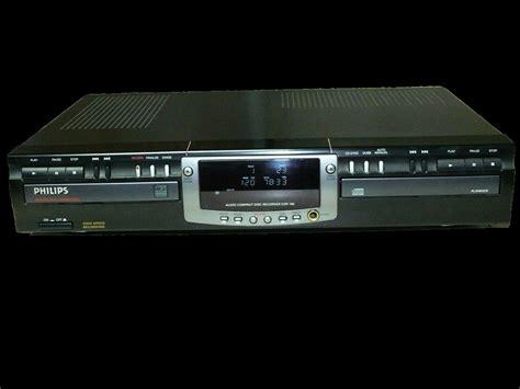 format audio cd normal philips cdr 765 image 988528 audiofanzine