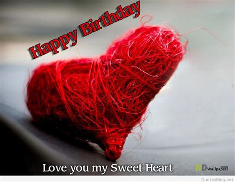 happy birthday love messages  images