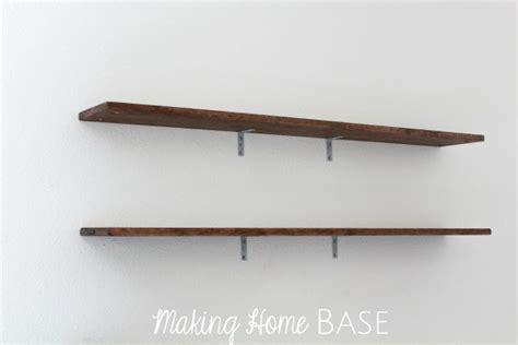 wall shelving tutorials rustic shelves you can make yourself
