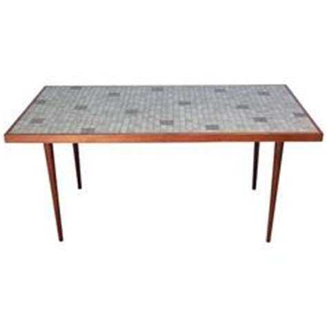 1960s dining table with ceramic tiled top for sale