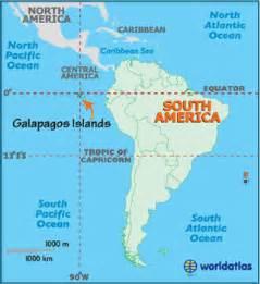 galapagos islands map geography of galapagos islands