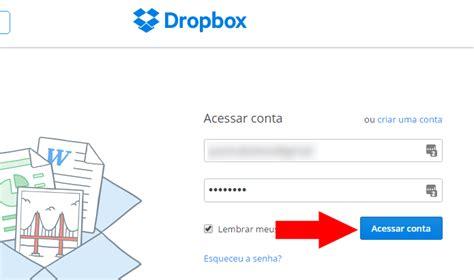 dropbox web login como acessar duas contas do dropbox no mesmo computador