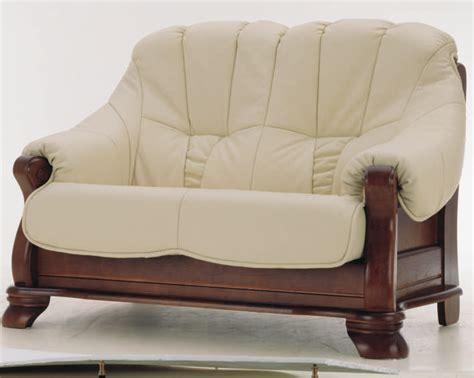 leather wood sofa european white double wood bottom leather sofa 3d models