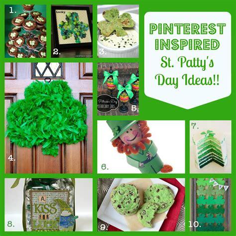 st patricks day crafts recipes pinterest inspired fun