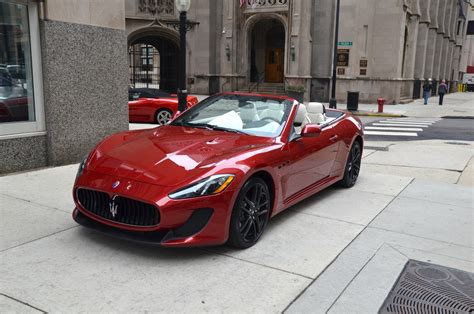 convertible maserati for sale 2013 maserati granturismo mc convertible sport stock
