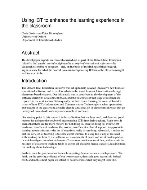 how to write a abstract for research paper exle of abstract for research paper bamboodownunder