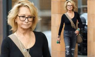 the fit life felicity kendal looks good in sporty black as she felicity kendal shows off youthful look during london day out