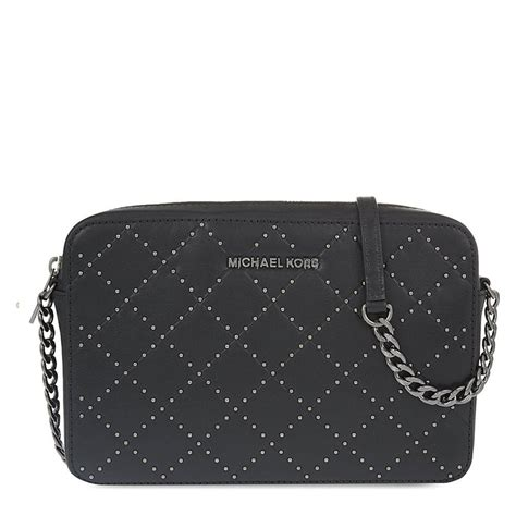 Michael Kors Crossbody Quilted michael by michael kors jet set travel black large quilted crossbody bag michael by michael