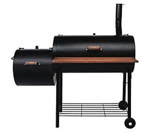 Backyard Classic Grill Parts Brinkmann Pitmaster Deluxe Smoker Grill With Offset Fire