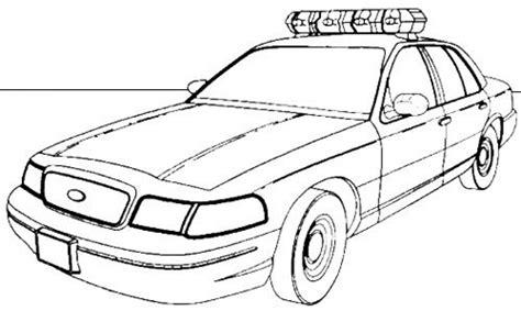 Galerry police van coloring page