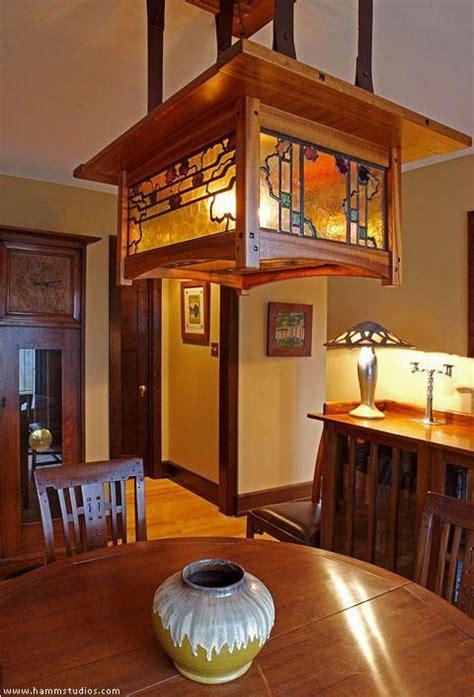 greene  greene style dining room chandelier