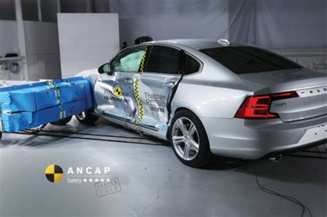 Audi A5 Crashtest by Hyundai Ioniq Volvo S90 Audi A5 Receive 5 Ancap