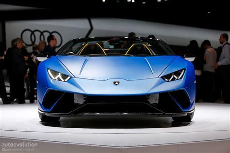 2019 Lamborghini Performante by 2019 Lamborghini Huracan Performante Spyder Makes Jaws
