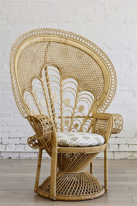Straw Chairs by Flutter By Wicker The Comeback Kid