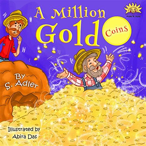 Children S Book 2 quot a million gold coins quot teaching about happiness money values story picture book for