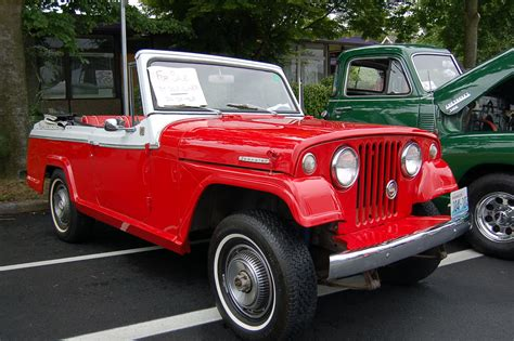 willys jeepster commando willys overland jeepster photos and specs from madchrome com