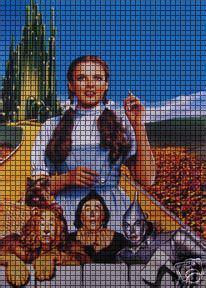 Wizard Of Oz Yellow Brick Road Crochet Pattern