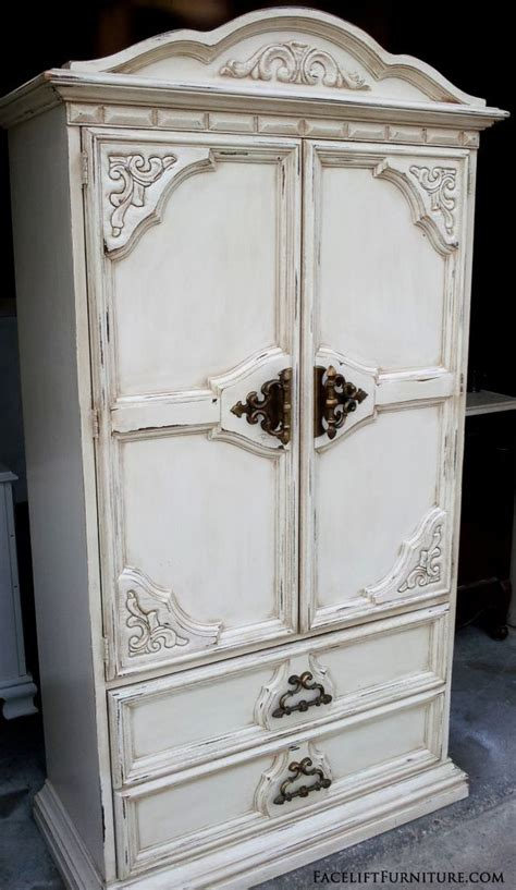 distressed armoire furniture 161 best images about refinished bedroom furniture