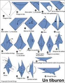 How To Make A Paper Shark Easy - origami shark