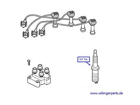 volvo v40 spark plugs volvo spark kit 31272427 wikingerparts