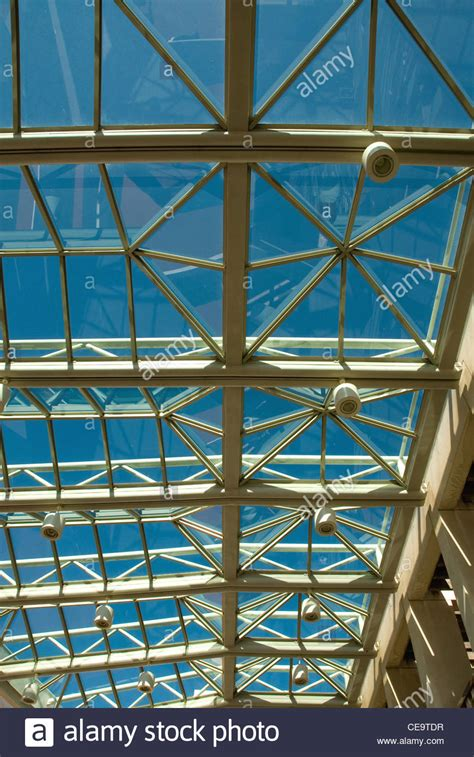 buy house canberra the glass and metal framed roof above the entrance foyer of stock photo royalty free