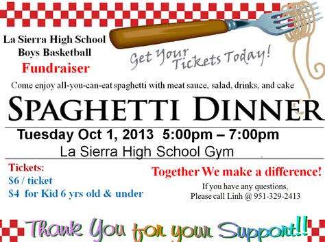 fundraiser dinner tickets template spaghetti dinner fundraiser spaghetti dinner fundraising