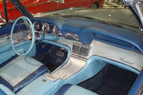 1963 Thunderbird Interior by 1963 Thunderbird Sports Roadster Convertible