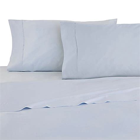 martex sheets buy martex 174 luxury t1200 sheet set in ballad blue from bed bath beyond