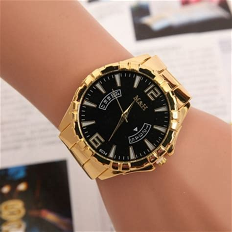 big watches for 2015 new gold fashion