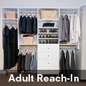 Reach In Closets Organizers Do It Yourself by Reach In Closet Organizer Roselawnlutheran