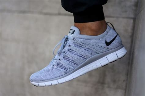 Grey 363699 04 Wmns Sneakers Trainers Casual Shoes Oss nike free flyknit nsw quot wolf grey quot