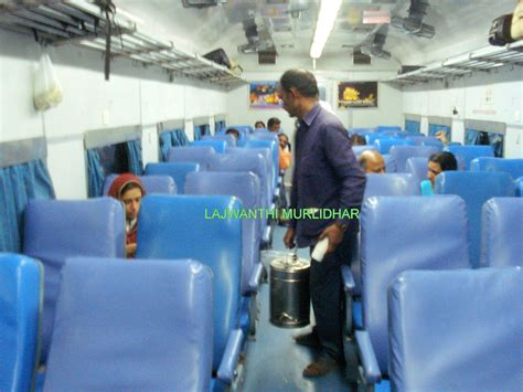 Chair Car by Indian Railways Interiors Of An Ac Chair Car Jitendra