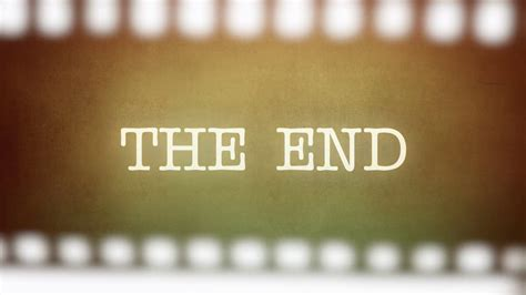 film it is the end film vintage is this the end strip animation of a retro