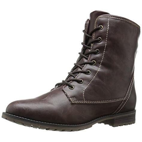 sporto boots sporto 7431 womens ankle lace up faux fur winter
