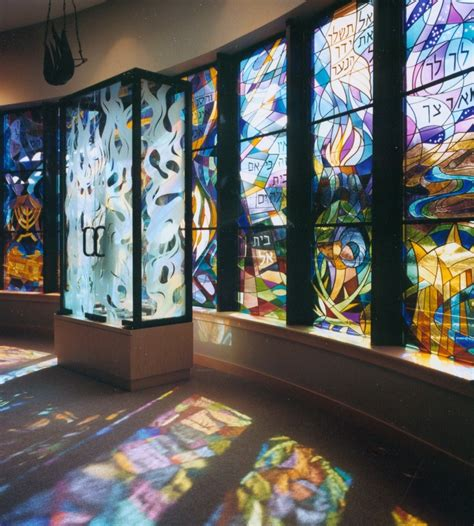 Chicago Wall Mural file temple ohev sholom stained glass ascalon studios