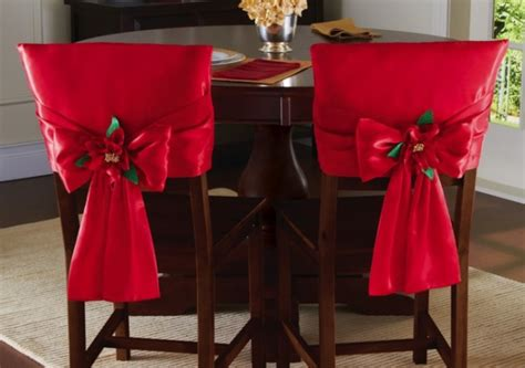 disney christmas chair back covers bow dining chair back covers
