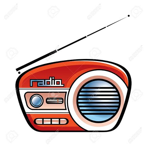 radio clip speakers clipart radio pencil and in color