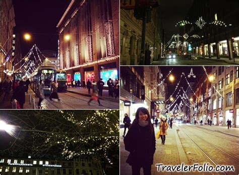 finland decorations helsinki sightseeing lights santaland finland