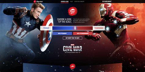 Pizza Hut Sweepstakes - pizzahut com captainamerica pizza hut marvel s captain america civil war