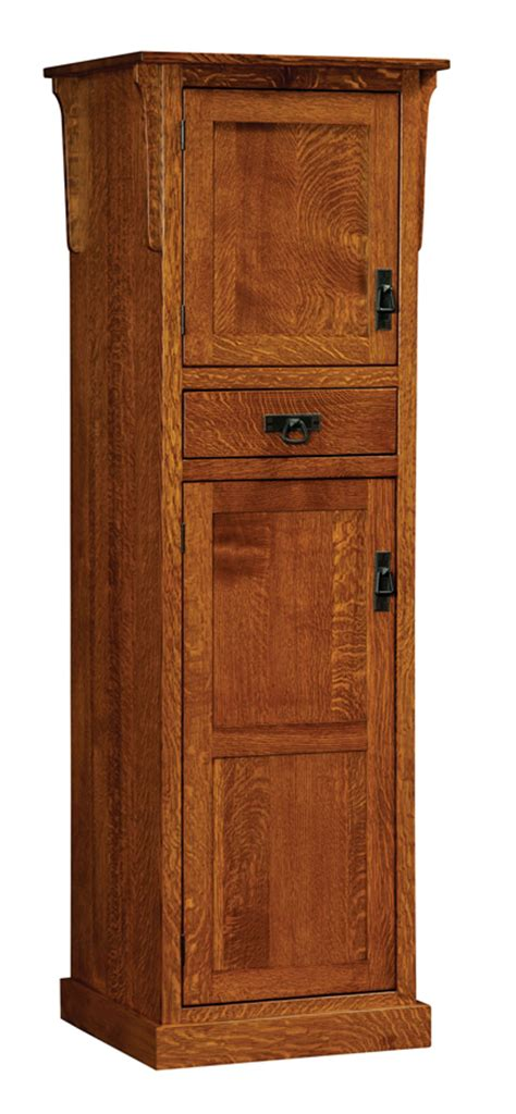 amish mission rustic kitchen pantry storage cupboard roll mission 2 door pantry cabinet amish furniture factory
