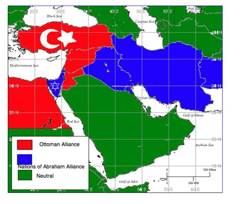 middle east map world war american german cold war middle east alliances by freedim