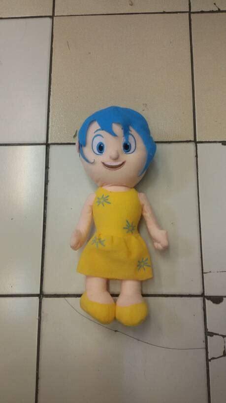 Boneka Karakter Eeve Import 40cm boneka anger disney pixar inside out gratis ongkos kirim