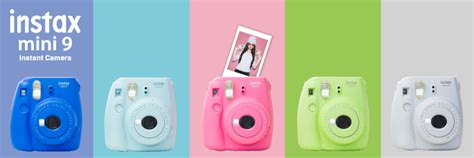 fujifilm instax colors fujifilm announces new instax mini 9 in festive colors